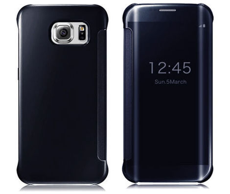 Etui Clear View Cover Samsung Galaxy S6 Edge