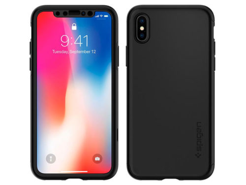 Etui Spigen Thin Fit 360 iPhone X