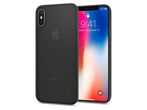 Etui Spigen Air Skin Apple iPhone X