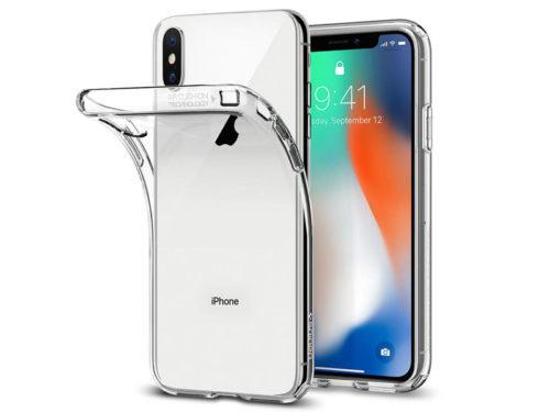 Etui Spigen Liquid Crystal Apple iPhone X