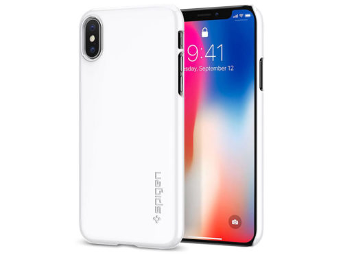Etui Spigen Thin Fit Apple iPhone X
